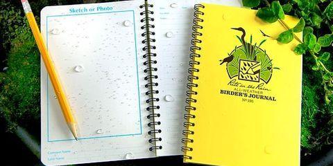 Rite in the Rain Birder's Journal, $10