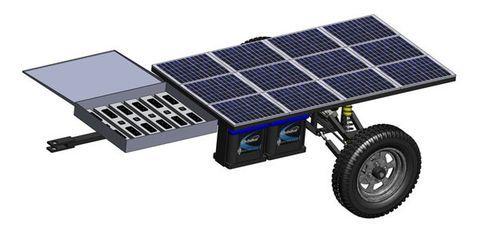 The All Terrain Solar Trailer (ATST)