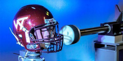 Helmet, Personal protective equipment, Sports gear, Face mask, Football equipment, Headgear, Machine, Football gear, Football helmet, American football,