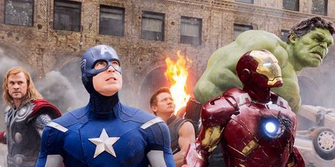 Sci-Tech Movie of the Year: The Avengers
