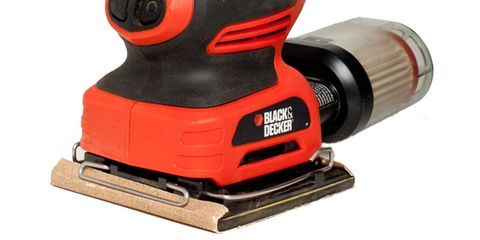 black and decker orbital sander. with its light weight and small size, few tools are as useful for summer painting repair projects the quarter-sheet sander. it glides into out of black decker orbital sander
