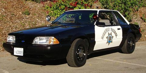 The Coolest HighPerformance Cop Cars - Cool cars 1983