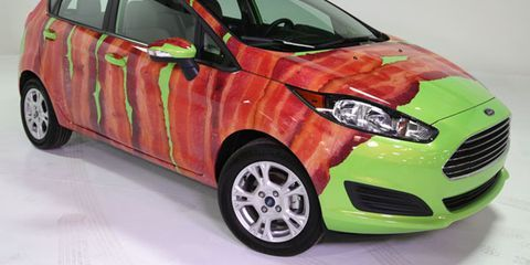 """2014 Ford """"Bacon-Wrapped"""" Fiesta"""