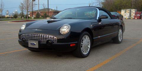 Thunderbird concept car