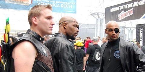 Nick Fury meet Nick Fury
