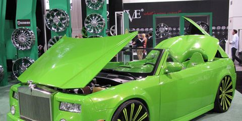 The Ugliest Cars at SEMA 2013