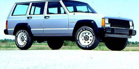 1984 Jeep Cherokee: Unibody