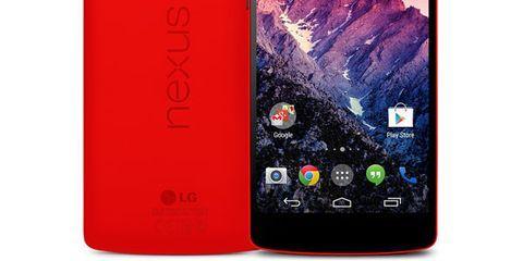 The Wingman: Google Nexus 5 Red