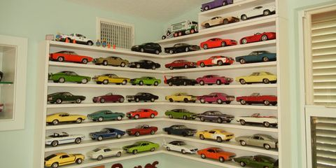 What a Collection of 1000-Plus Die-Cast Cars Looks Like