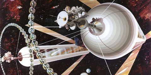 How We Could Actually Build a Space Colony - Popular Mechanics
