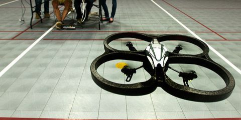 A Mind-Controlled Quadcopter