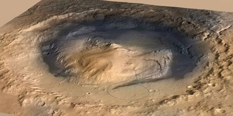 Curiosity Finds New Evidence That Mars Once Had Giant Lakes