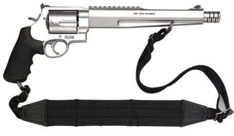 Smith and Wesson Most Powerful Handgun - 500 Cal Magnum Pistol from
