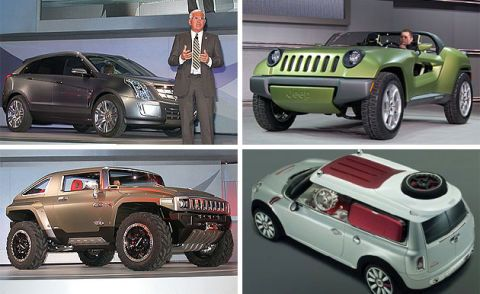 Cadillac Provoq, Jeep Renegade, Mini Crossman and Hummer HX could be a sight for sore wallets