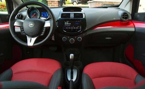 Chevrolet Spark\'s Interior: \