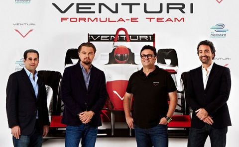 Leonardo DiCaprio Lends a Hand to French Formula E Team