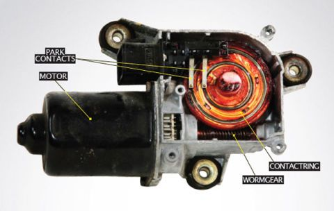 how to wind up your windshield wiper motors windhshield wiper motor fix 76 Ford Wiper Switch Wiring Diagram Ford Wiper Motor Wiring Color