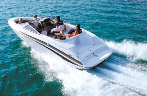 Yamaha GP1300R Muscle PWC And SR230 Sport Boat