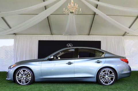 Luxury Aspiration: Infiniti Promotes Q50 at Amelia Island Concours