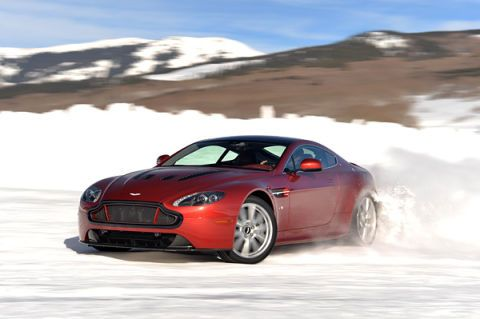 Aston Martin Joins the Winter Driving Fray