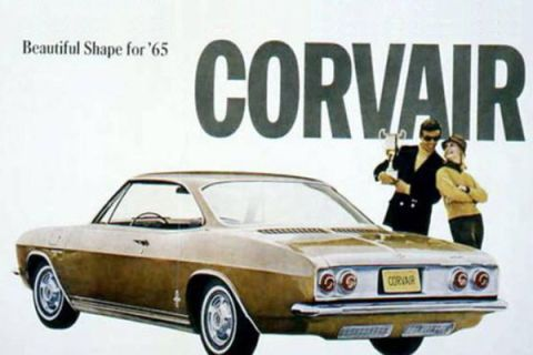 The Turbocharged Corvair