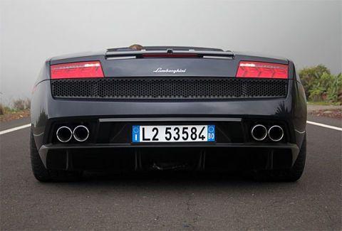 2009 Lamborghini Gallardo Lp560 4 Spyder Test Drive Sonorous V10
