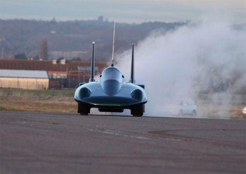 British Steam Car team