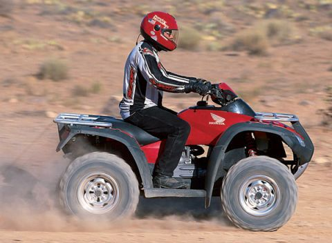 8 ATVs For 2003 With Bigger Engines, More Speed, Better Handling