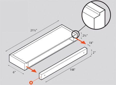 Floating Shelves Plan Guide How To Build A Floating Wall Shelf Inspiration Plans For Floating Shelves