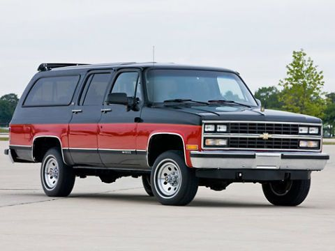 Chevy Suburban Pictures - Historical Pictures of the Chevy
