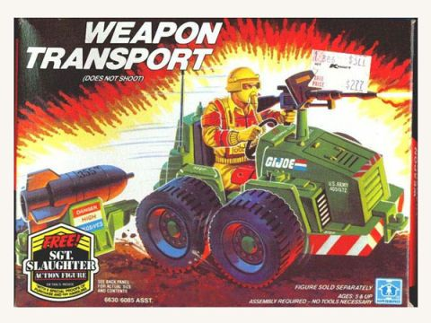 G.I. Joe Weapon Transport