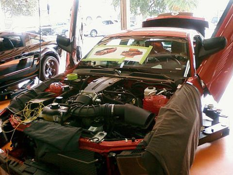 Kick-Ass Mustang Engine