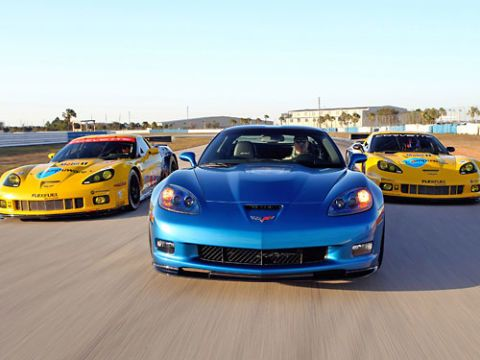 corvette racing sebring test february 16-18 2010 at the sebring international raceway