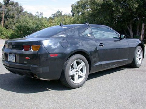 2010 Chevy Camaro Test Drive: Prototype Sports V6 Economy With V8-Style Fun