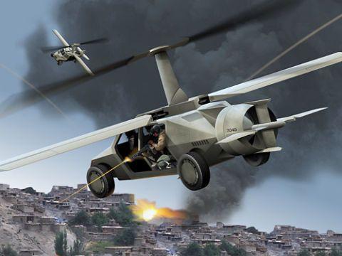 The U.S. Military Wants a Battlefield-Ready Flying Car