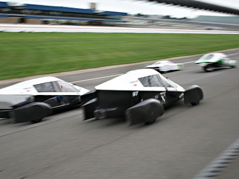 edison on auto x prize track