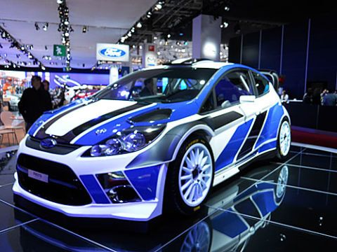 2011 Ford Fiesta RS WRC
