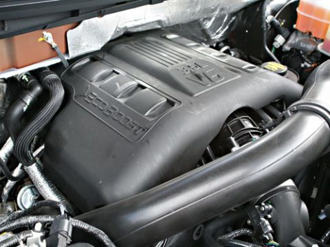 The 2011 Ford F-150 with 3.5-liter EcoBoost V-6.