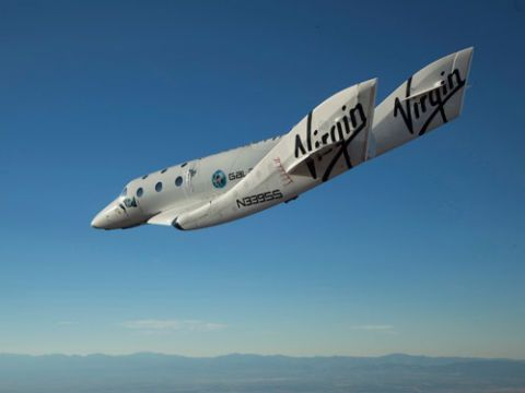 VSS Enterprise SpaceShipTwo Virgin Galactic