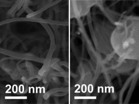 Carbon Nanotube Electrode Lithium
