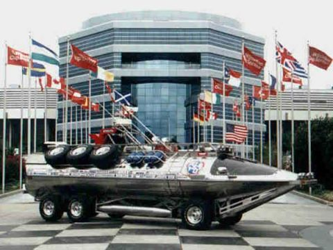 Swimming With Cars: 9 Amphibious Vehicles