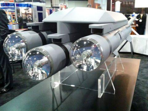 Brimstone Dual Mode Missiles