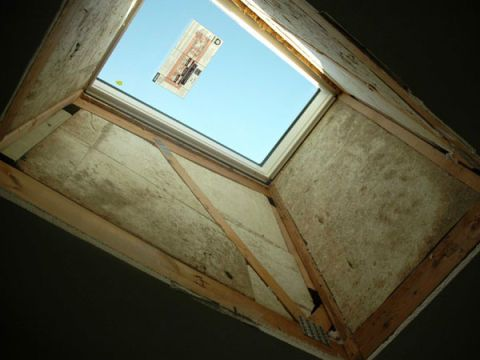 How I Did It Installing A Skylight