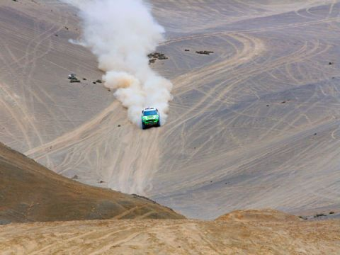 Slope, Terrain, Smoke, Field, Off-roading,