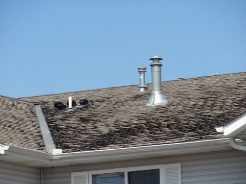 Problem: Your Gutters are Filled with Granules and Wash out the Downspouts