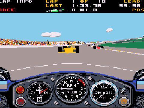 Indianapolis 500 The Simulation (1989)