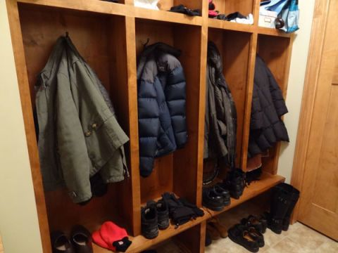 Coat and Footwear Locker