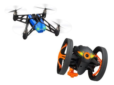 Parrot's MiniDrone and Jumping Sumo