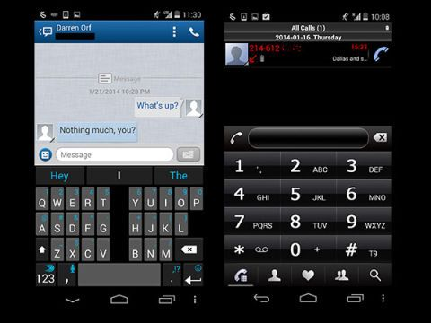 Messenger and Dialer