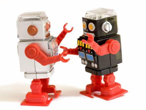 Robots = Slave Laborers